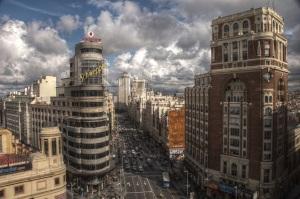 1Gran Via - Madrid, España