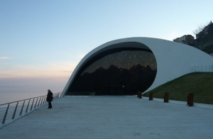 Auditorium Ravello- Italia - Oscar Niemeyer