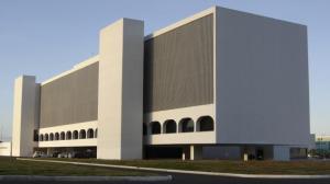 Biblioteca Nacional Leonel de Moura Brizola- Brasilia- Oscar Niemeyer
