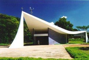 capilla virgen de Fatima - Brasilia - Oscar Niemeyer