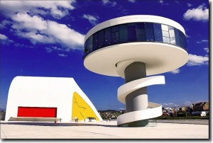 centro cultural internacional Oscar Niemeyer 1- Aviles, España - Oscar Niemeyer