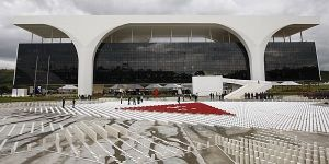 Ciudad administrativa Presidente Tancredo Neves - Brasilia - Oscar Niemeyer