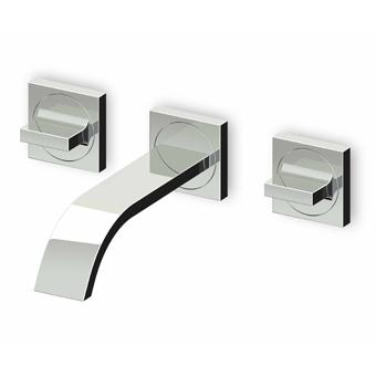 Grifo lavabo empotrado aguablu zucchetti sinergia y for Cambiar grifo lavabo