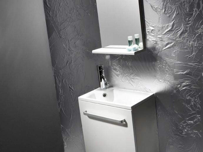Lavabo peque o mueble 250 440 ibiza bathco sinergia y for Lavabo mueble pequeno