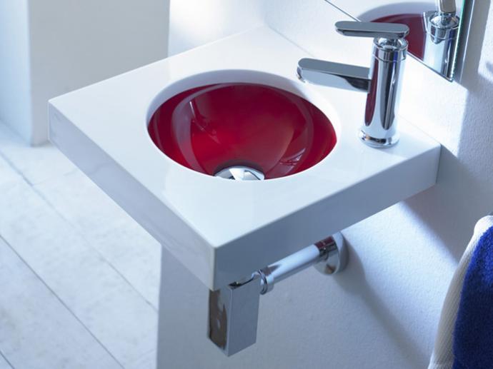 Lavabo bajo encimera vidrido une 01 bathco poveda - Baldas para bajo lavabo ...