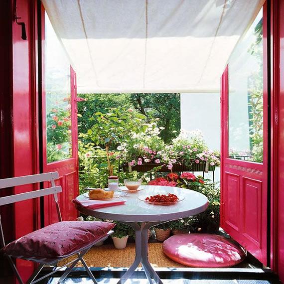 Terraza peque a decoracion poveda11 sinergia y materiales - Decoracion terraza pequena ...