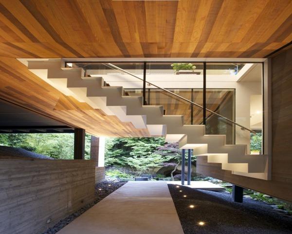 Escaleras escaleras de interior sinergia y materiales - Materiales para escaleras ...