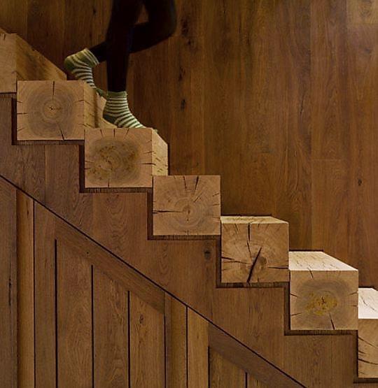 etiqueta tipos de escaleras