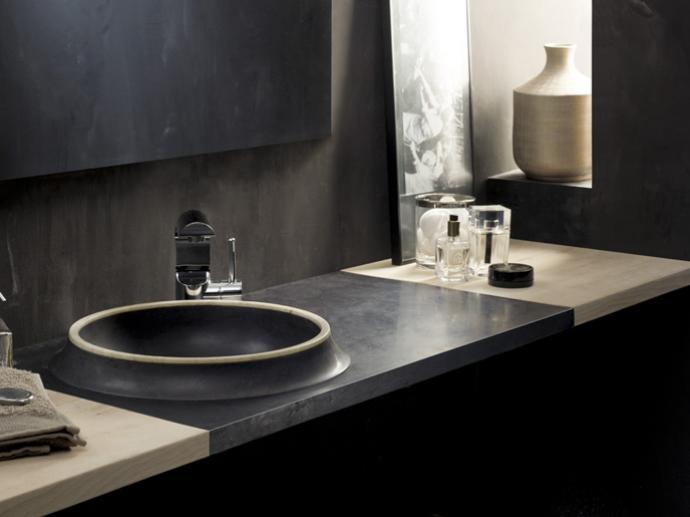 Bathco piedra lavabos platos de ducha ba era - Lavabos de piedra ...