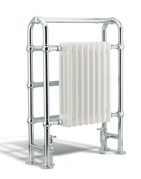 Radiador toallero clasico gentry home sinergia y materiales - Cambiar radiador por toallero ...