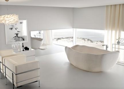 bañera-piedra-Le Acque-Toscoquattro