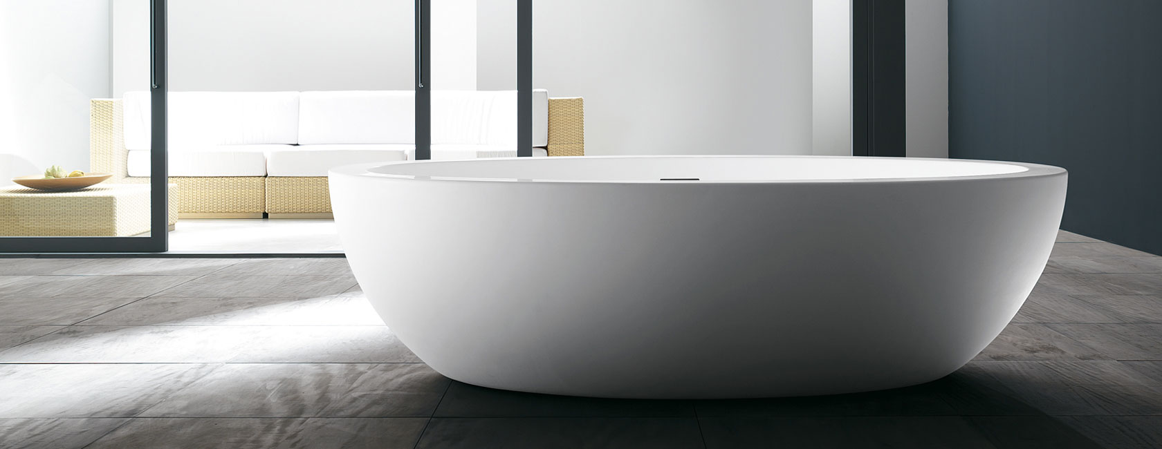 Ba era duralight resina feel teuco sinergia y materiales - Vasche da bagno sovrapposte prezzi ...