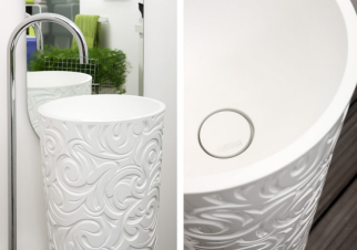 Lavabo_columna_Wallpaper_Regia_Poveda_decoracion