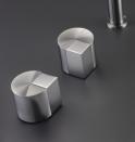 mandos de grifo de acero cea design diseño duet almacenes poveda