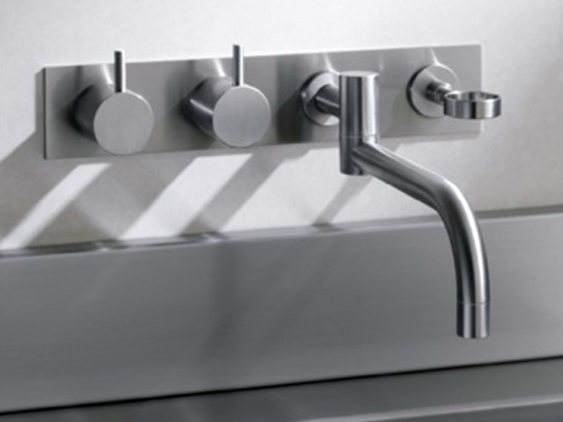 grifo acero lavabo cristina vola diseño almacenes poveda