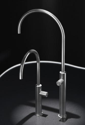 grifo acero lavabo radomonte hiro diseño almacenes poveda