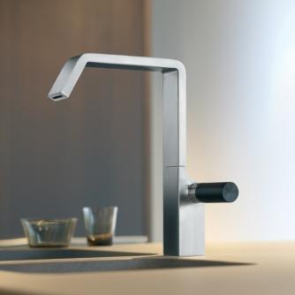 grifo acero cocina lavabo quadro design diseño ocean griferia almacenes poveda
