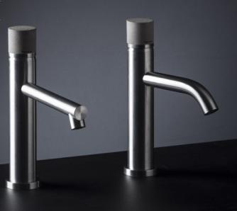 grifo acero lavabo ritmonio diseño concrete inox cemento almacenes poveda