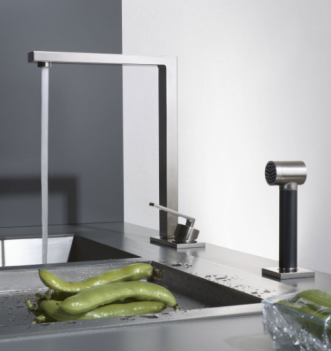 grifo cocina niquel mate dornbracht lot diseño design almacenes poveda