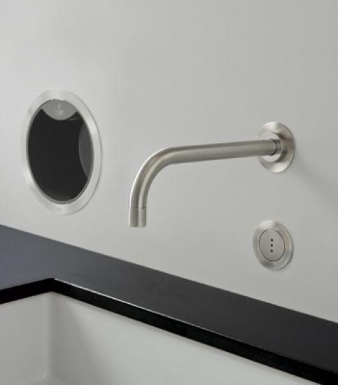 grifo electronico acero inoxidable lavabo vola diseño design almacenes poveda