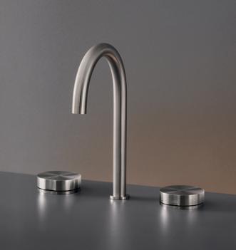 grifo lavabo acero cea design cartesio griferia diseño almacenes poveda
