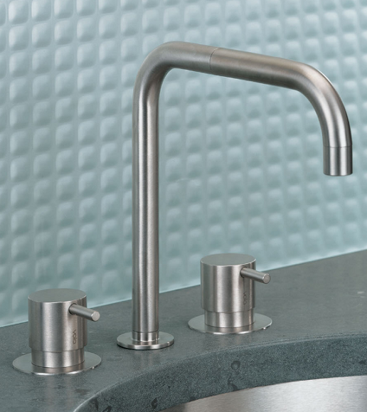 grifo lavabo acero vola kv griferia diseño almacenes poveda
